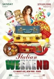 Italian Weekend flyer