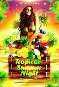 Tropical Summer Night