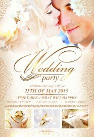 Wedding Party Flyer