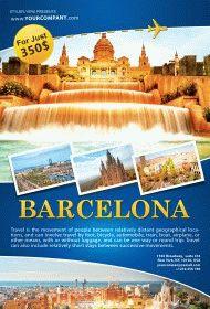 Barcelona-travel-Flyer