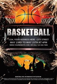 Basketball-Flyer