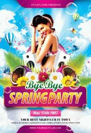 Bye-Bye-Spring-Party-Flyer
