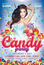 Candy-party-Flyer