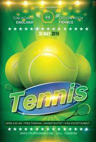 Tennis-Flyer