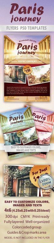 Paris journey Flyer