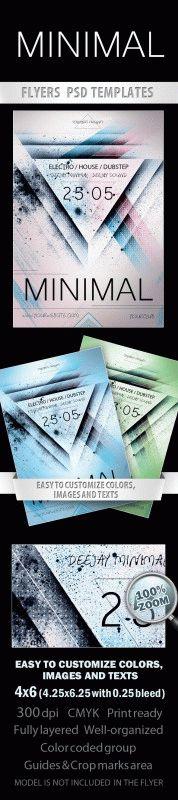 Minimal  Free Flyer PSD Template