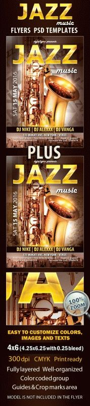 Jazz Free Psd Flyer