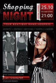shopping-night-Flyer