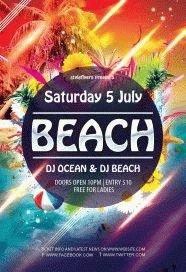 Beach-Flyer