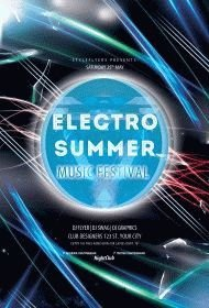 Electro-Summer-music-festival-flyer-
