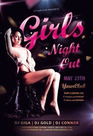 Girls-Night-Out-Party-Flyer