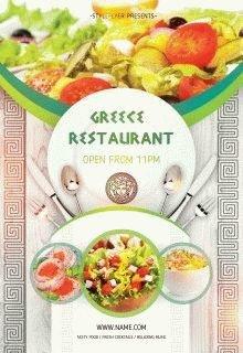 Greece-restaurant-opening-flyer