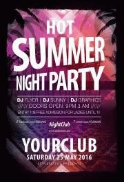 Hot-summer-night-party-flyer