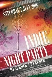 Indie-Night-party-flyer