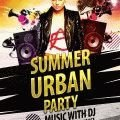 Urban-Summer-Party-Flyer