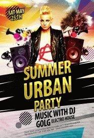 Urban-Summer-Party-Flyer