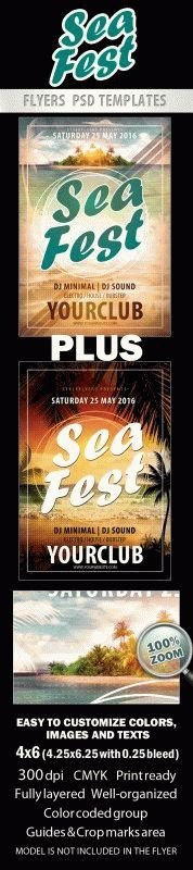 Sea Fest Flyer