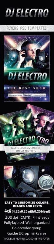 DJ Electro Flyer