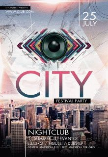 City-Festival-Party-flyer