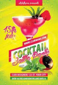 Cocktail-battle-Party-flyer