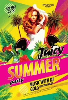 Juicy-Summer-Paty-flyer