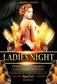 Ladies-night-party-flyer