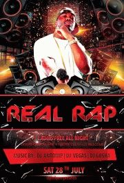Real-RAP-music-party-flyer