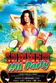 Summer-Hit-Party-flyer
