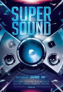 Super-Sound-party-flyer