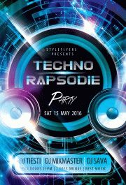 Techno-rapsodie-Party-flyer