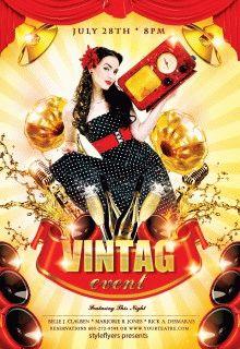 Vintage-Event-Flyer