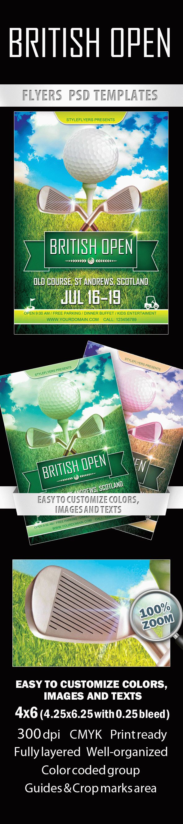 British Open Sport Flyer