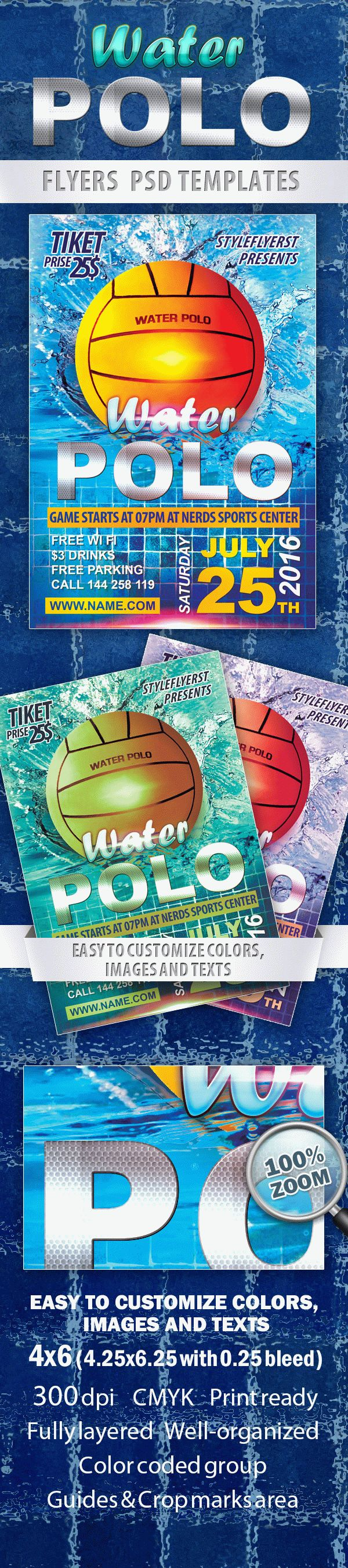 Water Polo Sport Flyer