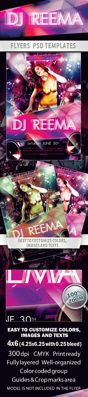 DJ Reema Flyer