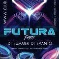 Futura-party-flyer