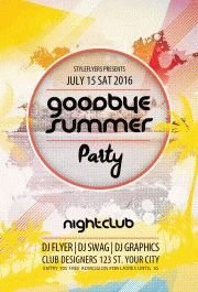 goodbye-summer--party-flyer