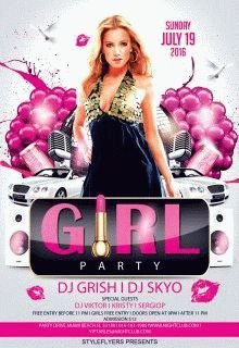 party-girl---party-flyer