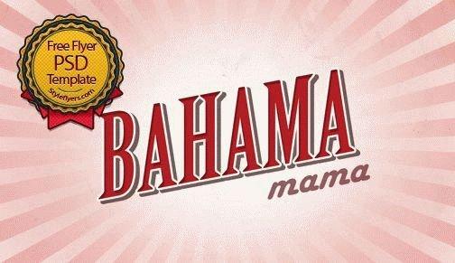 Bahama Mama Flyer
