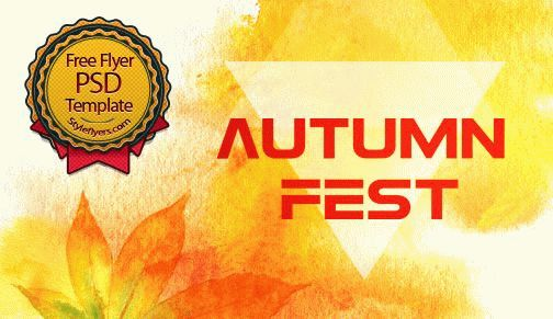 Autumn Fest Flyer