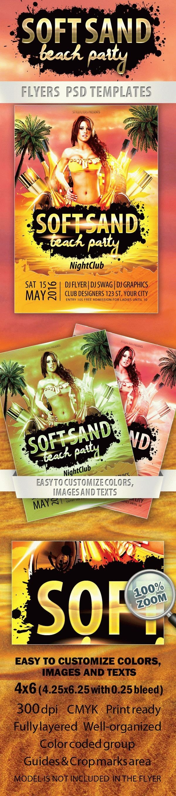 Soft Sand Beach Party