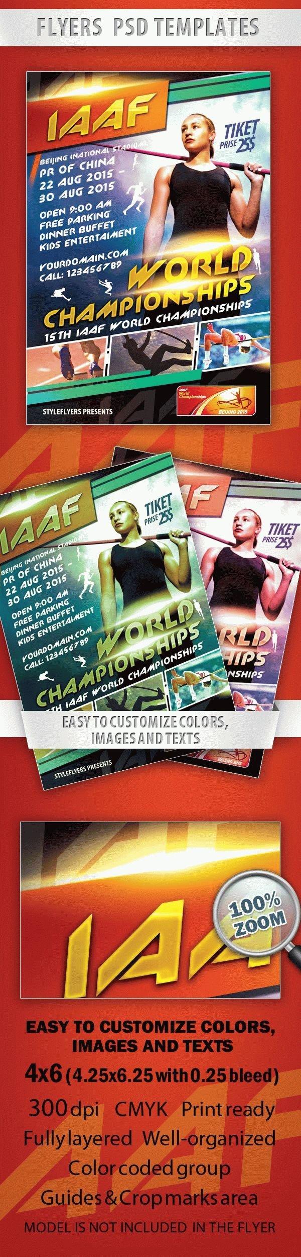 IAAF World Championships Flyer