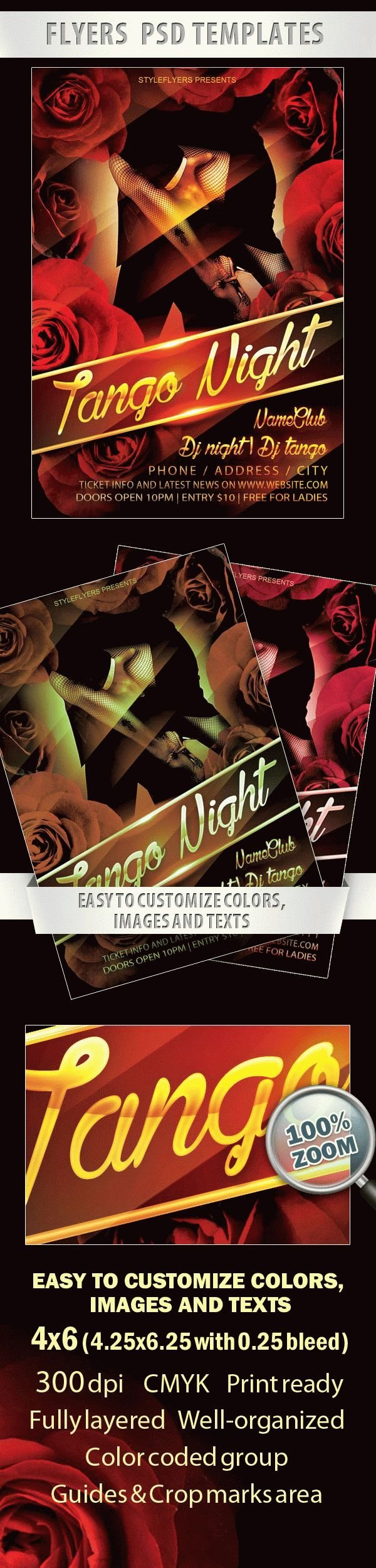Tango Night Flyer