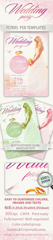 Wedding FREE PSD Flyer