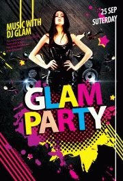 Glam-Party