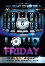 Loud-Friday---party