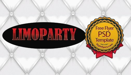 Limoparty Flyer