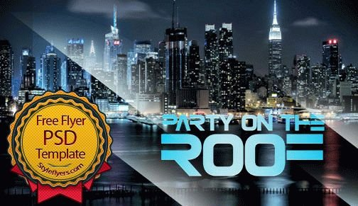 Party on the Roof Flyer