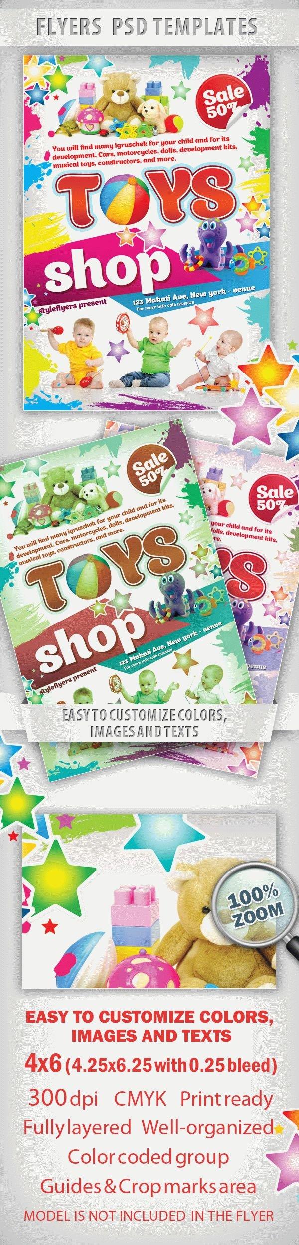 Toys Shop Flyer