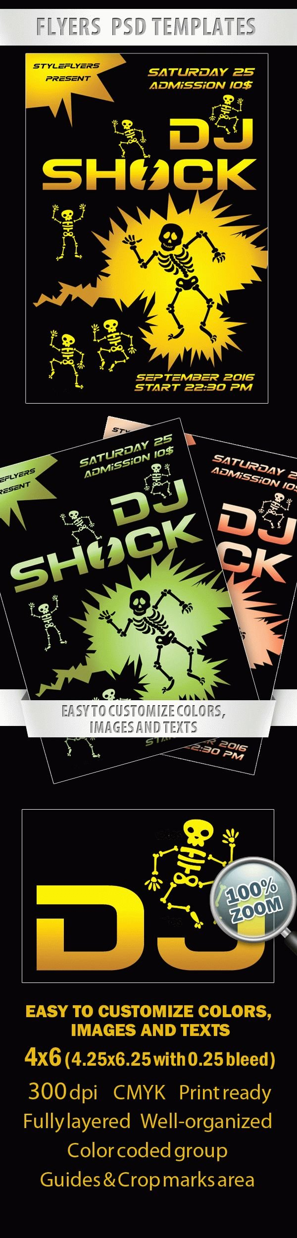 Dj Shock Flyer