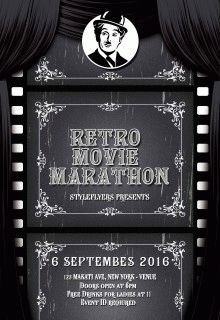 retro-movie-marathon-flyer